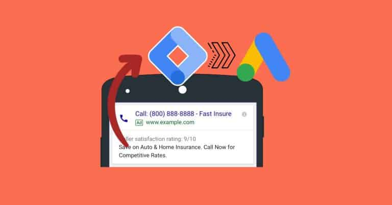 Setting Up Phone Call Conversion Tracking on a Website (Google Ads and GTM) blog featured image