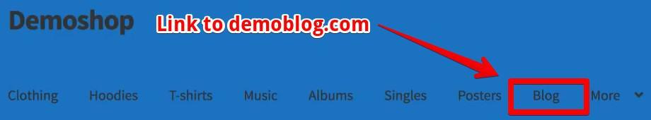 Link to demoblog.com