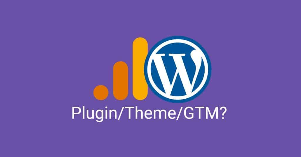 Install Google Analytics on Wordpress a blog featured image