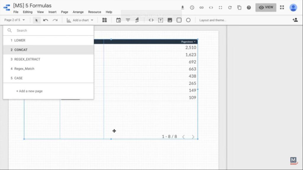 concat-function-data-studio