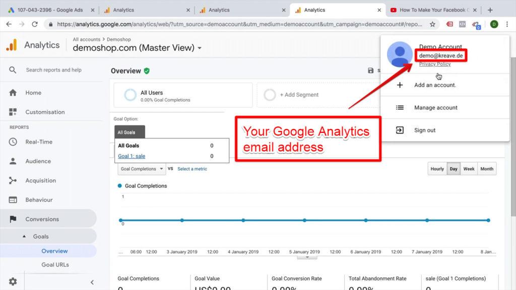 google-analytics-email-address