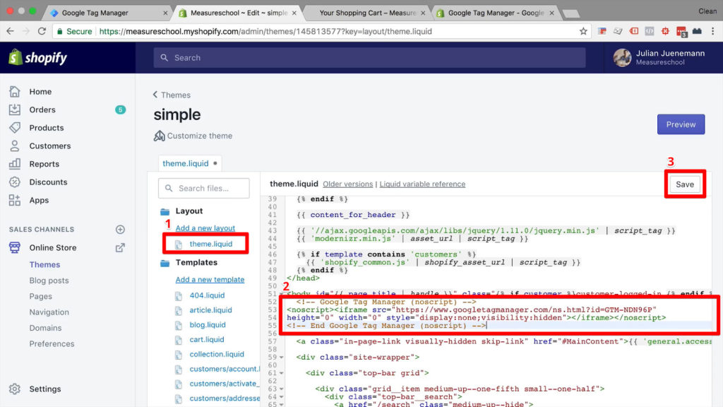 insert-Google-Tag-Manager-GTM-body-snippet-into-theme