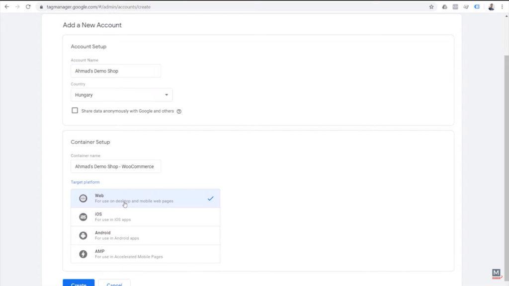 new-google-tag-manager-account-setup