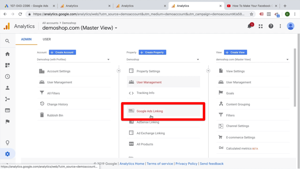 google-ads-linking