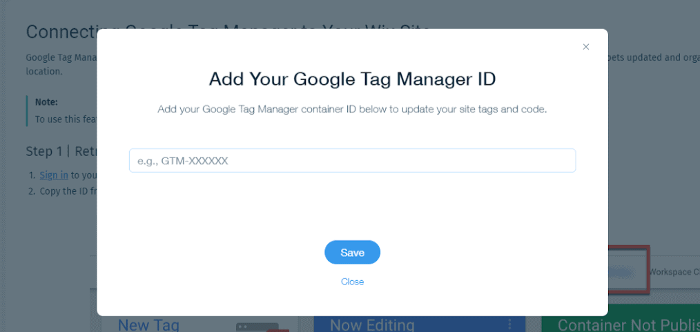 add-google-tag-manager-id-to-wix