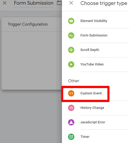 select-custom-event-for-a-trigger
