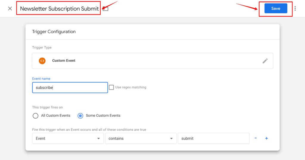 Screenshot naming Trigger