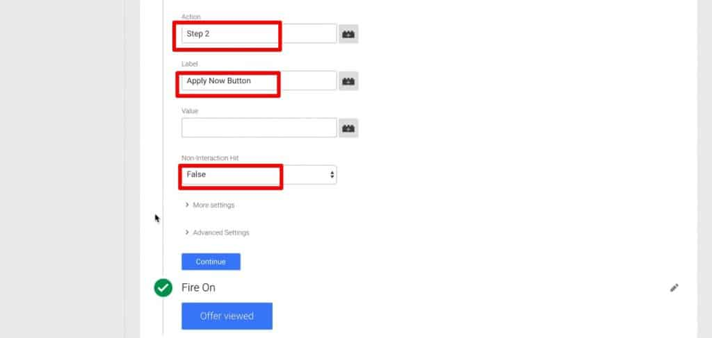 Changing the Event values of a Tag in Google Tag Manager