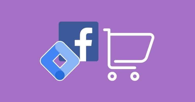 Facebook Pixel Purchase & Conversion Tracking with GTM blog featured image