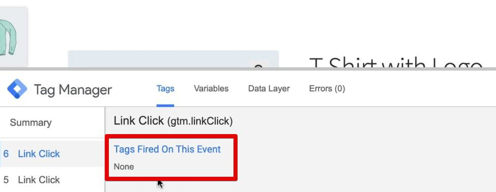 Phone Number clicks event Tag doesn't get fired on any other links
