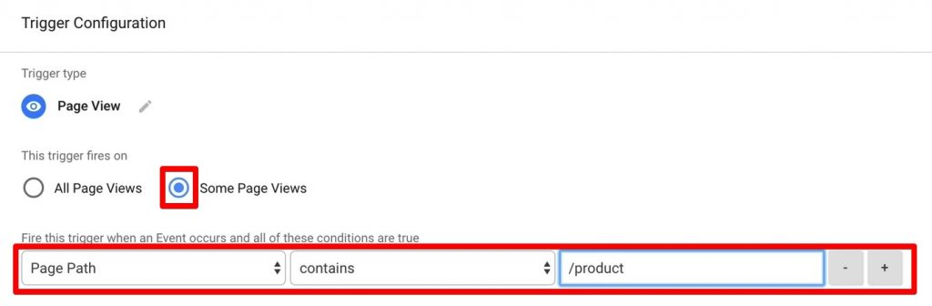 Setting up trigger configuration for Intercom event tracking in Google Tag Manager