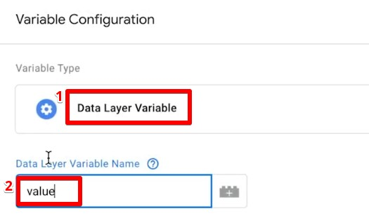 Adding the key value as Data Layer Variable Name in Google Tag Manager
