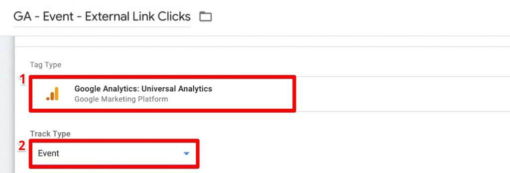 Creating a new Tag in Google Tag Manager